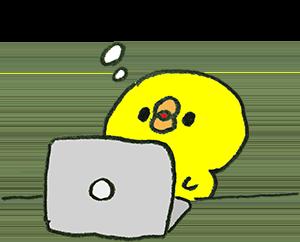 SSLとは何か、考えるひよこ